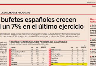 Ranking 2015 de despachos de abogados – Diario Expansión