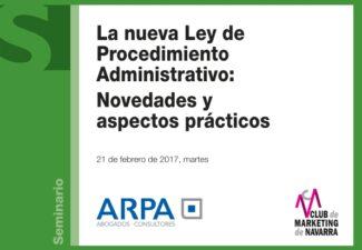 La nueva Ley de Procedimiento Administrativo: Novedades y aspectos práctico