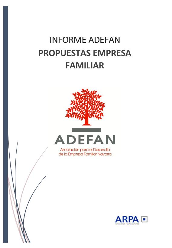 Informe Adefan
