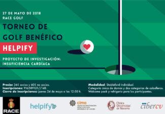 ARPA colabora con el Torneo de Golf Benéfico en favor de la Investigación en InsuficienciaCardíaca