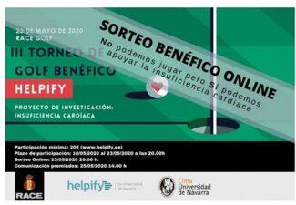 ARPA colabora con el Sorteo benéfico online de Helpify en favor de la Investigación en Insuficiencia Cardíaca
