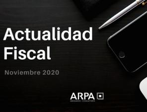 ACTUALIDAD FISCAL- Noviembre (II)